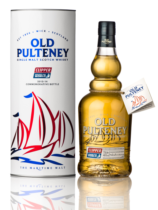 Old pulteney clipper round the world race commemorative bottle blog detail